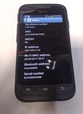 AT&T Samsung Galaxy Rugby Pro(SGH-i547)- FULLY FUNCTIONAL- READ BELOW