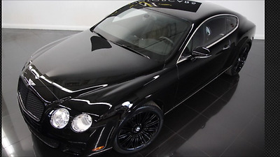 2008 Bentley Continental GT SPEED FACTORY BLACKOUT GT SPEED PRICE REDUCED!!, 600+hp W12, Twin Turbo