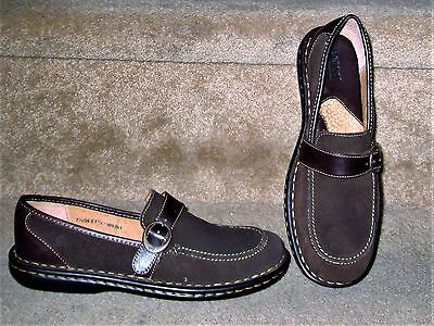 WOMENS BORN LEATHER LOAFER SHOES Sz 7 1/2  M NEW