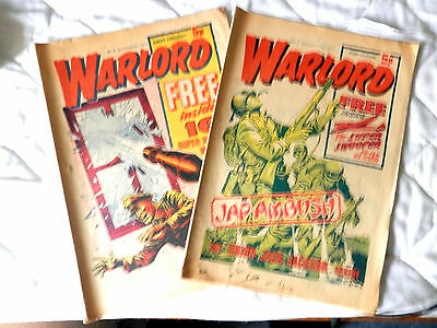 WARLORD 2 issues Nos 2 and 3 (1974)