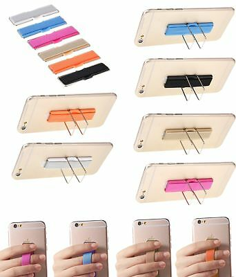 Finger Grip Strap Phone Holder w Stand for Mobile Phone iPhone iPad Tablet