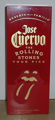 "JOSE CUERVO RESERVA de la FAMILIA ""THE ROLLING STONES  TOUR PICK"" BOX"
