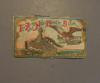 Us World War I The Army And Navy Needle Book