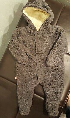 Magnificent Baby 3 Month Snowsuit Bunting Magnetic Closures