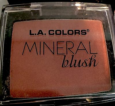 L.A. Colours Mineral Blush Dusty Rose New