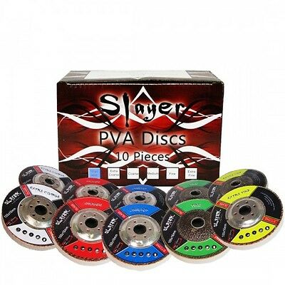 4 Inch Slayer PVA Polishing Discs Kit - 10 Piece Complete Set Auction Special