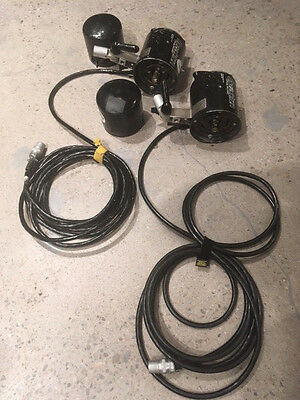 2 Speedotron Strobe Model 102A for Black Line For Parts or Repair