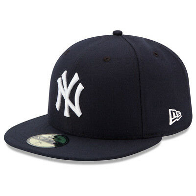 New Era 5950 Youth New York Yankees 2017 GAME Fitted Hat (Navy Blue) MLB Cap