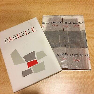New In Box 2 Pairs Vintage Parkelle Nylon Stockings Sheer Suntime One Size