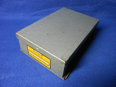 Vintage Eastman Kodak Kodaslide Compartment File Slide Storage Tray / Box