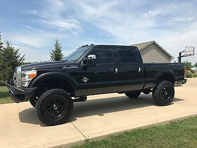 2015 Ford F-250 Platinum uperduty 4x4 Crew Diesel 6.7L Over $84,000 invested!