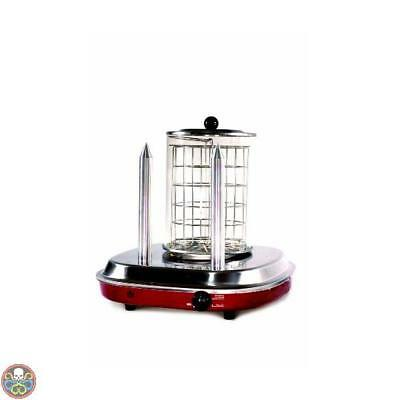 Simeo Red, Fc 465 - Hotdog Makers Hot Dog Steamer Stainless Steel Nuovo