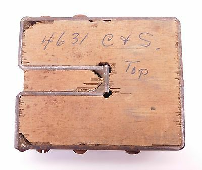 Leather Working Clicker Die Stamp (INV #118)