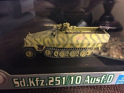 Dragon Armor 1:72 Sd.Kfz.251/10 Ausf.D Germania/Wiking Poland1944 NEW 60302