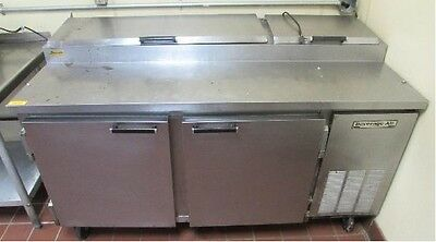 """67"""" Refrigerated Pizza Prep Table"""