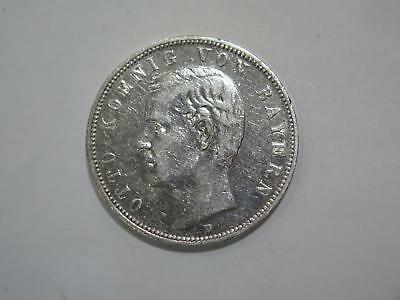 1903 D Germany 5 Funf Mark Deutsches Reich Silver Coin Old World Collection Lot