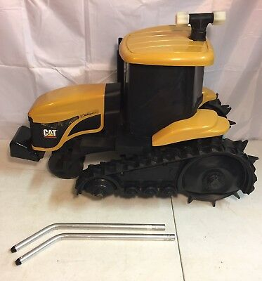 Nelson Challenger CAT Caterpillar Yellow Traveling Water Sprinkler Tractor EUC!