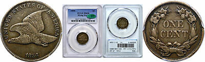 1856 Flying Eagle Cent PCGS PR-20 CAC