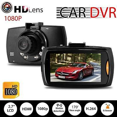 "1080P HD 2.7"" G-Sensor LCD Night Vision CCTV In Car DVR Camera Accident RecordPY"