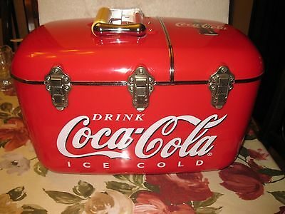Coca Cola Cooler With Radio And CD Player