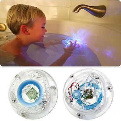 Bathroom LED Light Toy Kid ColorChanging Toys Waterproof In Tub Bath Time Fun W-