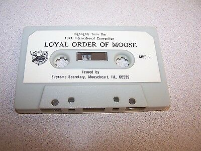 "Loyal Order Of Moose ""HIGHLIGHTS FROM THE 1971 INTERNATIOAL CONVENTION"" 1971"