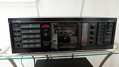 Nakamichi RX-505 Cassette Deck  In Mint Condition Was Overhauled Last month
