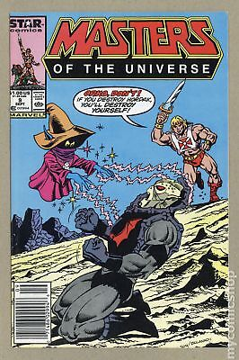 Masters of the Universe (1986 2nd Series Marvel/Star Comics) #9 FN+ 6.5
