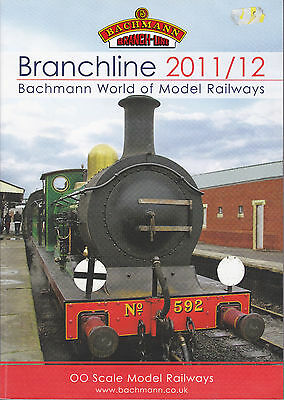 BACHMANN BRANCHLINE OO; 2011-12 Catalogue. 178 Pages MINT CONDITION
