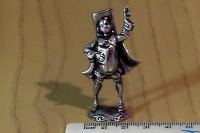 Sterling silver miniature Actor