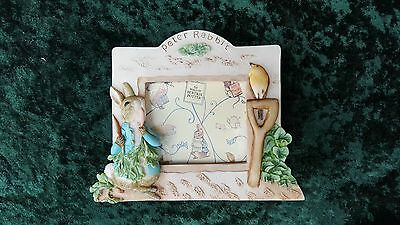 Peter Rabbit, Beatrix Potter, Photo Frame, 3D resin