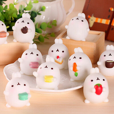 Mochi Squishy Rabbit Squeeze Healing Fun Kids Kawaii Toy Stress Reliever Decor