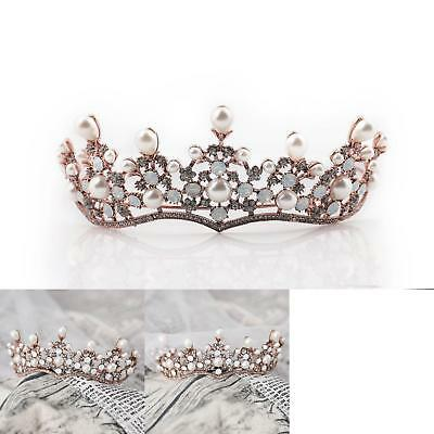 Bridalvenus Wedding Crown Princess Bridal Tiara Vintage Wreath For Women And Gir