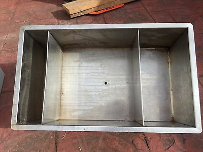 Stainless Steel Commercial 3 holes Ice Well