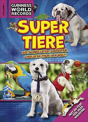 Guinness World Records Super Tiere Vol. 1 Buch der Rekorde sofort lieferbar