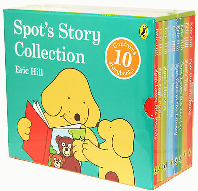 Child Spot's Story Collection 10 Books Set Nursery, Friends In Slipcase New