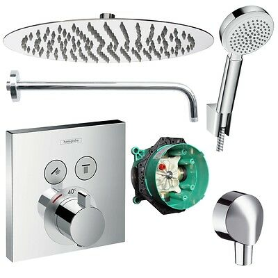 Duscharmatur Unterputz hansgrohe shower select unterputz duscharmatur set ibox armatur