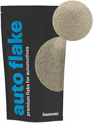 Hemway Champagne Auto Car Glitter Paint Spray Metal Flakes 100g (0.008)