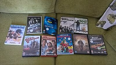 JOBLOT OF 10 X DVD's, ACTION, COMEDY + CHILDRENS