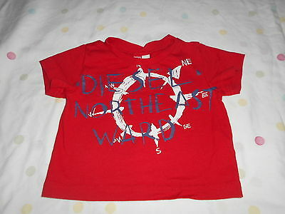 Diesel Baby Boys Summer T Shirt Age 6 MTHS In Excellent Condtion