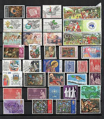 CHRISTMAS Thematic Stamp Collection MINT USED Re:TS307