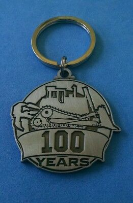 CATERPILLAR 100 YEAR ANNIVERSARY Peoria Equipment Key Fob Ring