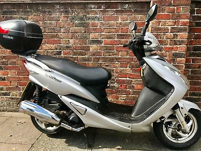 Sym VS 125 Scooter **Cheap Scooter just serviced with Long MOT**