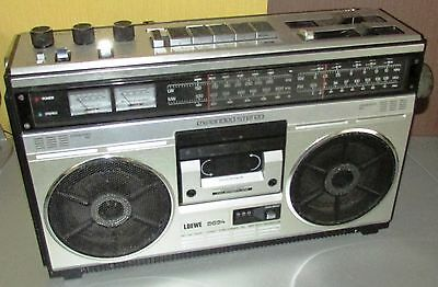 Loewe 8694 expanded stereo Radio Stereo Cassetten Recorder 80er Jahre, Radio