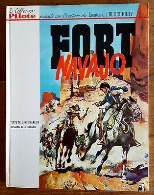 Rare Eo Collection Pilote 1965 Jean Giraud Charlier Blueberry N° 1 : Fort Navajo