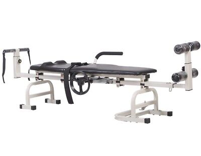 Cervical and Lumbar Traction Table