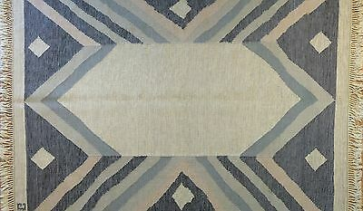 Special Swedish - 1940s Signature Scandinavian Rug by Judith Johansson 5.8 x 7.6