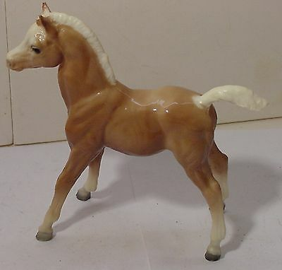 Vintage Breyer Molding Co Model or Toy Horse Palomino 6.5 Inch Long & Tall