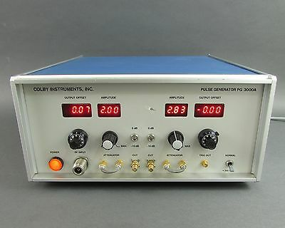 Colby PG3000A Dual Output 3GHz Pulse Generator