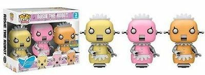 Funko POP! Animation SDCC 2017 Rosie The Robot 3 Pack